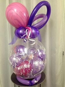 geschenkballon ballonverpackung ballongeschenk n rnberg. Black Bedroom Furniture Sets. Home Design Ideas